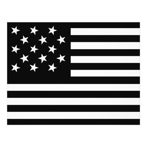 15 Star Us Flag Full Color Flyer
