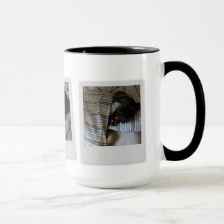 """15oz Combo Coffee Mug """"Add Your Photos"""" By Zazz_it"""