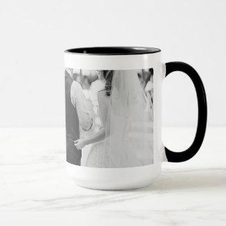 15oz Combo Custom Coffee Wedding1 Mug By Zazz_it