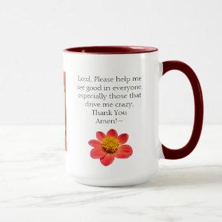 15oz Combo Gossip Mug Prayers & Coffee By Zazz_It
