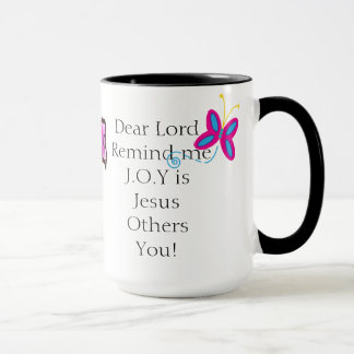 15oz Combo JOY Mug Prayers & Coffee By Zazz_It