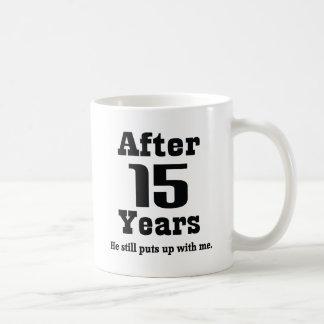 15th Anniversary (Funny) Coffee Mug