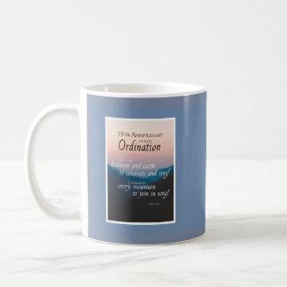 15th Anniversary of Ordination Congratulations Coffee Mug