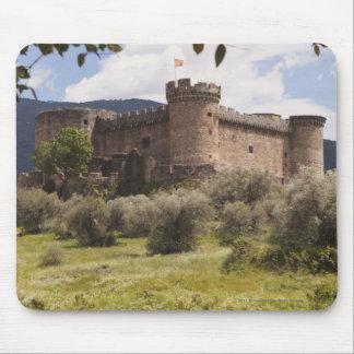 15Th Century Castle Of The Duke Of Alburquerque Mouse Pad
