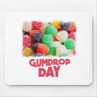 15th February - Gumdrop Day Mouse Pad