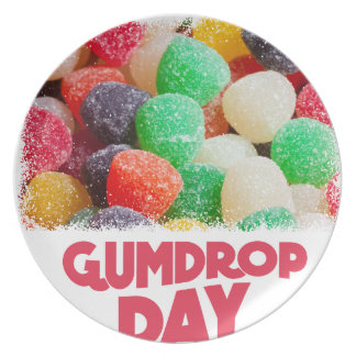 15th February - Gumdrop Day Plate