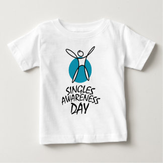 15th February - Singles Awareness Day Baby T-Shirt