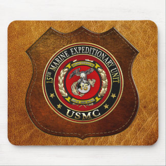 15th Marine Expeditionary Unit (15th MEU) [3D] Mouse Pad