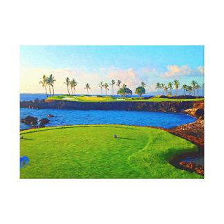 15th On The Bay At Mauna Lani Canvas Print