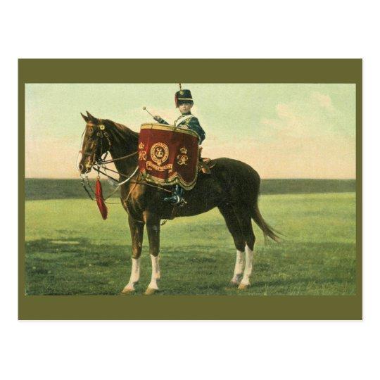 15th The King's Hussars Little Drummer boy Postcard