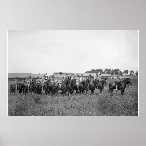 15th U.S. Cavalry Band, early 1900s Print