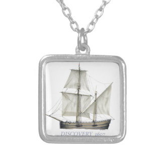 1607 dIscovery Silver Plated Necklace