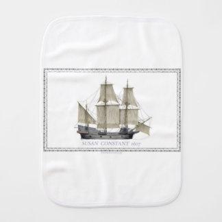 1607 susan constant burp cloth
