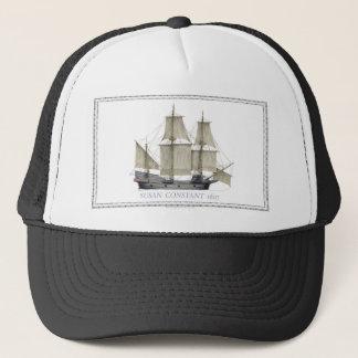 1607 susan constant trucker hat