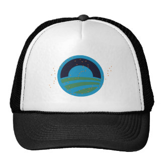 160.PLANET-EARTH MESH HATS