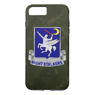 "160th SOAR ""Night Stalkers"" Dark Green Camo iPhone 7 Plus Case"