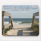 "163_6335, ""At the beach, life is different. A d... Mouse Pad"