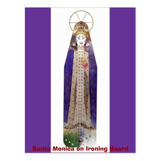 1641, Santa Monica on Ironing Board Post Card