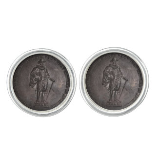 1642 - The First of The Race That Settl Cufflinks