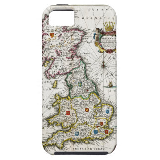 1646 Britain Map iPhone 5 Cover