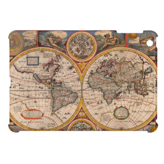 1651 Renaissance World Map Case For The iPad Mini