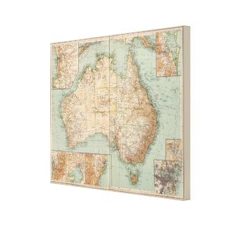 16667 Australia Gallery Wrapped Canvas