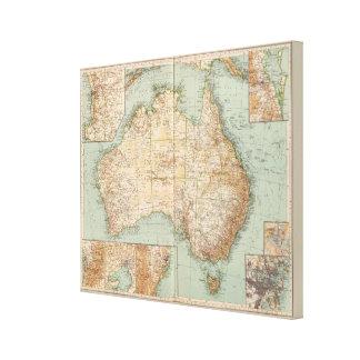 16667 Australia Stretched Canvas Prints
