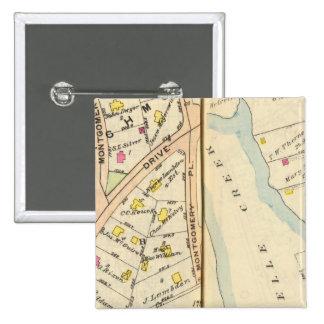 168169 New Rochelle 15 Cm Square Badge