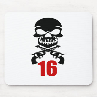 16 Birthday Designs Mouse Pad