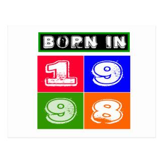 16 Birthday Designs Postcard