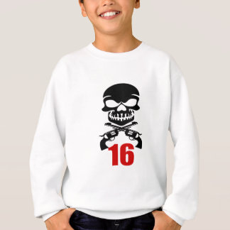 16 Birthday Designs Sweatshirt