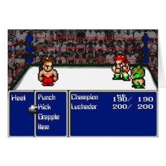16 bit RPG Wrestling Card