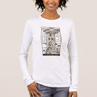16 - La Maison Dieu (The House of God, The Tower Long Sleeve T-Shirt