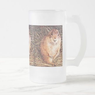 """16 oz. Frosted Beer Mug """"Chubby Gopher"""""""