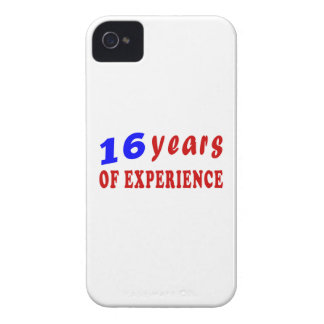 16 years of experience iPhone 4 Case-Mate cases
