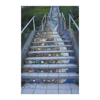 16th Avenue Tiled Steps #2 Canvas