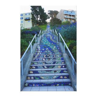 16th Avenue Tiled Steps #5 Canvas