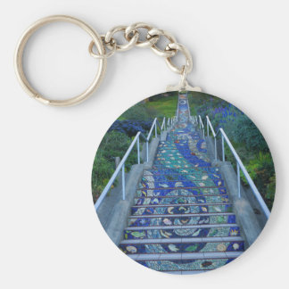16th Avenue Tiled Steps #5 Keychain