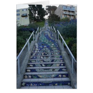 16th Avenue Tiled Steps Card