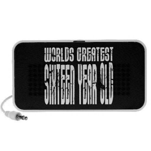 16th Birthday 16  Worlds Greatest Sixteen Year Old Travelling Speakers