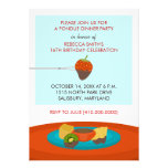 16th Birthday Fondue Dinner Party Celebration Personalised Invitations