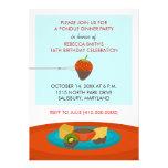 16th Birthday Fondue Dinner Party Invitations Personalised Invitations
