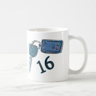 16th Birthday Keys Gifts Coffee Mug