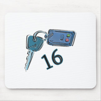 16th Birthday Keys Gifts Mouse Pad
