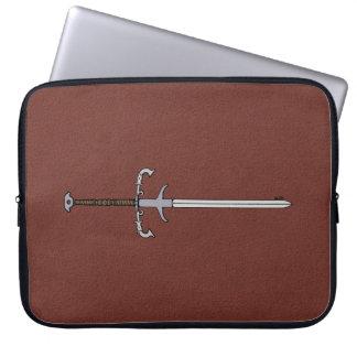 16th Century Bearing Sword Laptop Sleeve