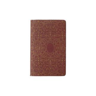16th Century French Gilt Leather Binding Pocket Moleskine Notebook