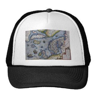 16th Century Map of Scandinavia Trucker Hat