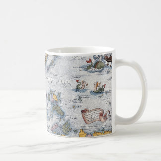 16th Century Map of South East Asia and Indonesia Mugs