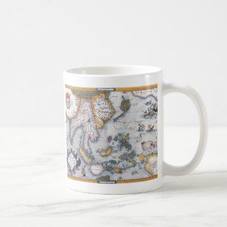 16th Century Map of South East Asia and Indonesia Coffee Mug