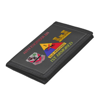 16TH ENGINEER BATTALION 1ST ARMORED WALLET